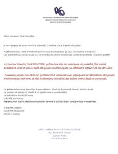 Travaux Pratiques - Prothèse des dents antérieures unitaires @ Ufo, Cabinet du Dr Olivier LECLERCQ