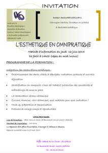 L'Esthétique Omnipratique @ Ufo, Cabinet du Dr Olivier LECLERCQ
