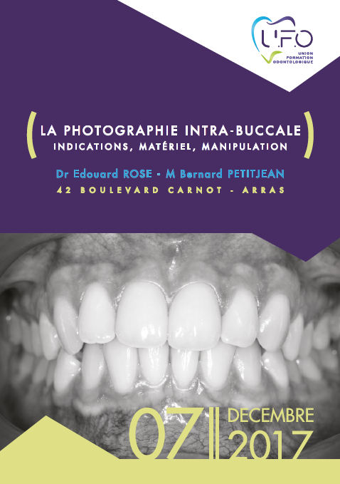 la photographie intra bucale UFO Formation Odontologie